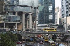 Hong- Kongstraße Lizenzfreie Stockfotografie
