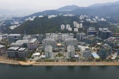 Hong- Kongtechnologie-Zentrum lizenzfreie stockfotografie