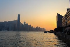 Hong kongu budynku Zdjęcia Stock