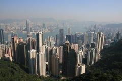 Hong kongu miasta Zdjęcie Royalty Free