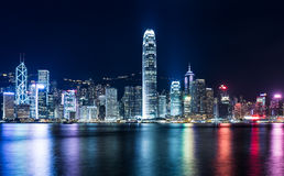 Hong kongu miasta fotografia royalty free