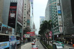 Hong kongu miasta Zdjęcia Royalty Free
