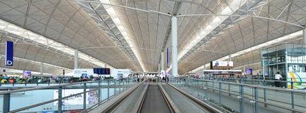 Hong kongu portów lotniczych Zdjęcie Stock