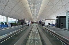 Hong kongu portów lotniczych Obraz Royalty Free