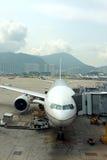 Hong kongu portów lotniczych Zdjęcia Royalty Free