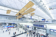 Hong kongu portów lotniczych obrazy stock