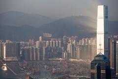 Hong-Konng sunset Royalty Free Stock Photography