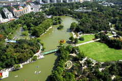 Hong mei park Royalty Free Stock Images