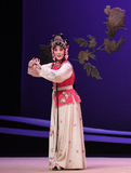 "Hong niang-Kunqu Opera ""the West Chamber"" Royalty Free Stock Images"