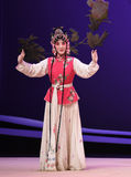 "Hong niang-Kunqu Opera ""the West Chamber"" Stock Photography"