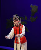 "Hong Niang-Kunqu Opera ""the West Chamber"" Stock Images"