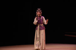 "Hong Niang-Kunqu Opera ""the West Chamber"" Royalty Free Stock Image"