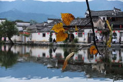 Hong Village - Anhui Province - Historical China Village Royalty Free Stock Photography