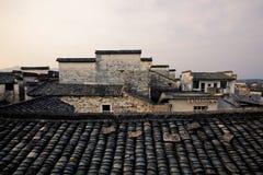 Hong Village i det Anhui landskapet, Kina royaltyfria foton