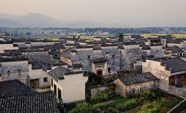 Hong Village i det Anhui landskapet, Kina royaltyfri bild