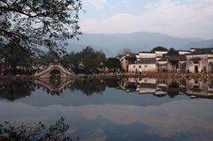 Hong village scenery. Anhui Royalty Free Stock Photography