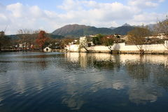 hong wioska Zdjęcie Royalty Free