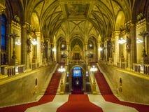 Hongaars Binnenlands Parlementsgebouw, Royalty-vrije Stock Afbeelding