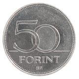 50 Hongaars forintmuntstuk Royalty-vrije Stock Afbeeldingen
