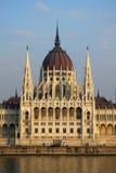 Hongaars huis van het parlement Royalty-vrije Stock Afbeeldingen