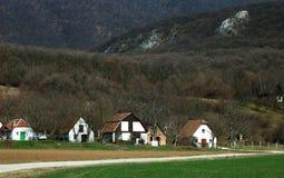 Hongaars landbouwbedrijf in de bergen royalty-vrije stock foto's