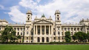 Hongaars Nationaal Etnografisch Museum in Boedapest, Hongarije royalty-vrije stock fotografie