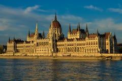 Hongaars Parlementsgebouw Royalty-vrije Stock Afbeeldingen