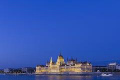 Hongaars Parlementsgebouw Stock Fotografie