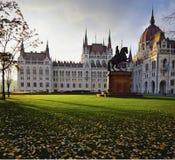 Hongaars Parlementsgebouw Stock Afbeelding