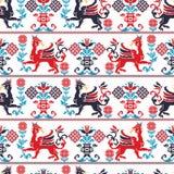Hongaars patroon Stock Afbeeldingen