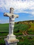 Hongaars platteland Stock Foto