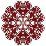 Hongaars volksornament Royalty-vrije Stock Foto