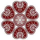 Hongaars volksornament Royalty-vrije Stock Afbeeldingen