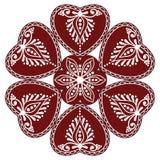 Hongaars volksornament Royalty-vrije Illustratie