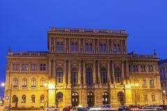 Hongaarse Academie van Wetenschap Stock Foto