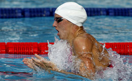 Hongaarse zwemmer Katinka Hosszu Royalty-vrije Stock Foto