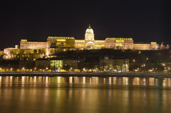 Hongarije, Boedapest, de Heuvel van het Kasteel Stock Fotografie