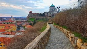 Hongarije-Esztergom Royalty-vrije Stock Afbeelding