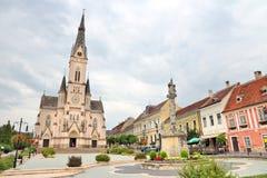 Hongarije - Koszeg-Stad Royalty-vrije Stock Foto's