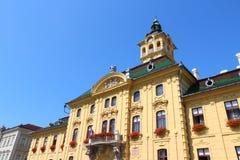 Hongarije - Szeged stock foto