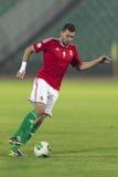 Hongarije versus de voetbalwedstrijd van Andorra Royalty-vrije Stock Afbeelding
