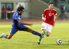 Hongarije versus San Marino 8-0 Stock Afbeelding