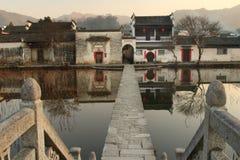 hongcun χωριό στοκ εικόνα με δικαίωμα ελεύθερης χρήσης