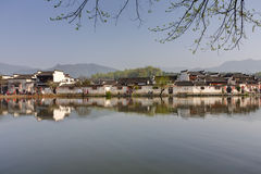 Hongcun, Ancient village in south China. Stock Photography