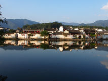 Hongcun Ancient Villages. Historical Huizhou region of southern Anhui Province Stock Photos