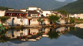 Hongcun Ancient Villages. Historical Huizhou region of southern Anhui Province Royalty Free Stock Photo