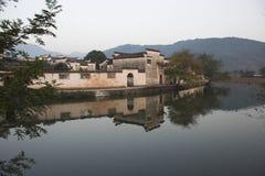 Hongcun, Anhui, Chine Image libre de droits