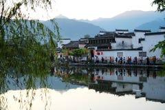 Hongcun by, Anhui, Kina Fotografering för Bildbyråer