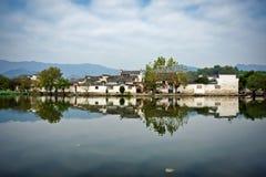 Hongcun Anhui landskap, Kina Royaltyfri Fotografi