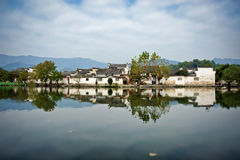 Hongcun, Anhui province, China. The ancient city of Hongcun, Anhui Province, China. The village became a UNESCO World Heritage Site in 2000 Royalty Free Stock Photography
